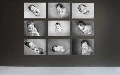 Black & White Photography – Newborn & Baby